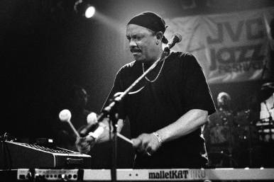 """August 16: Vibraphonist/vocalist Roy Ayers is among the best-known, most loved and respected jazz/R&B artist on the music-scene today. Now in his fourth decade in the music business, Ayers, known as the Godfather of Neo-soul, continues to bridge the gap between generations of music lovers. In the 60's he was an award-winning jazz vibraphonist, and transformed into a popular R&B band leader in the 70's/80's. Today, the dynamic music man is an iconic figure still in great demand and whose music industry heavyweights, including Mary J. Blige, Erykah Badu, 50 Cent, A Tribe Called Quest, Tupac and Ice Cube. Ayers recently recorded with hip hop artist Talib Kweli (produced by Kanye West) and jazz/R&B singer Wil Downing. Many of Ayers' songs including: """"Everybody Loves the Sunshine"""",""""Searchin"""", Running Away"""" have been frequently sampled and remixed by DJ's worldwide. @ YAAM Berlin, 8pm"""