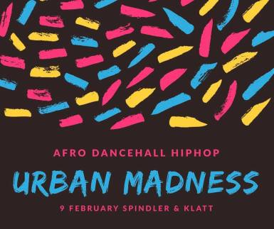 February 9: Afro Dancehall Urban Madness X Spindler & Klatt X 2 Floors // AFRO DANCEHALL URBAN MADNESS We Open 2 floors for the first time in Spindler & Klatt DJ'S LINE UP : Floor 1 Mighty Timeless (Dancehall) D J EMPROR (Dancehall, Afro) D J JC (Afro) Floor 2 D J OMSO (HipHop,Urban Music) D J O'Nit (HipHop, Urban) Music Doors : 23:00 @ Spindler & Klatt