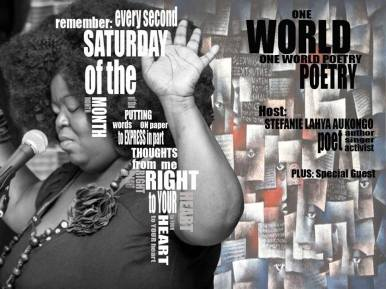 """January 13: One World Poetry Night - come as you are 